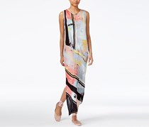 Rachel Roy Draped Asymmetrical Dress, Pastel Combo