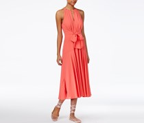 Rachel Roy Tie-Front Midi Dress, Watermelon