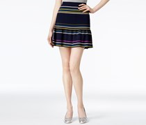 Rachel Roy Striped Flared Skirt, Indigo Combo