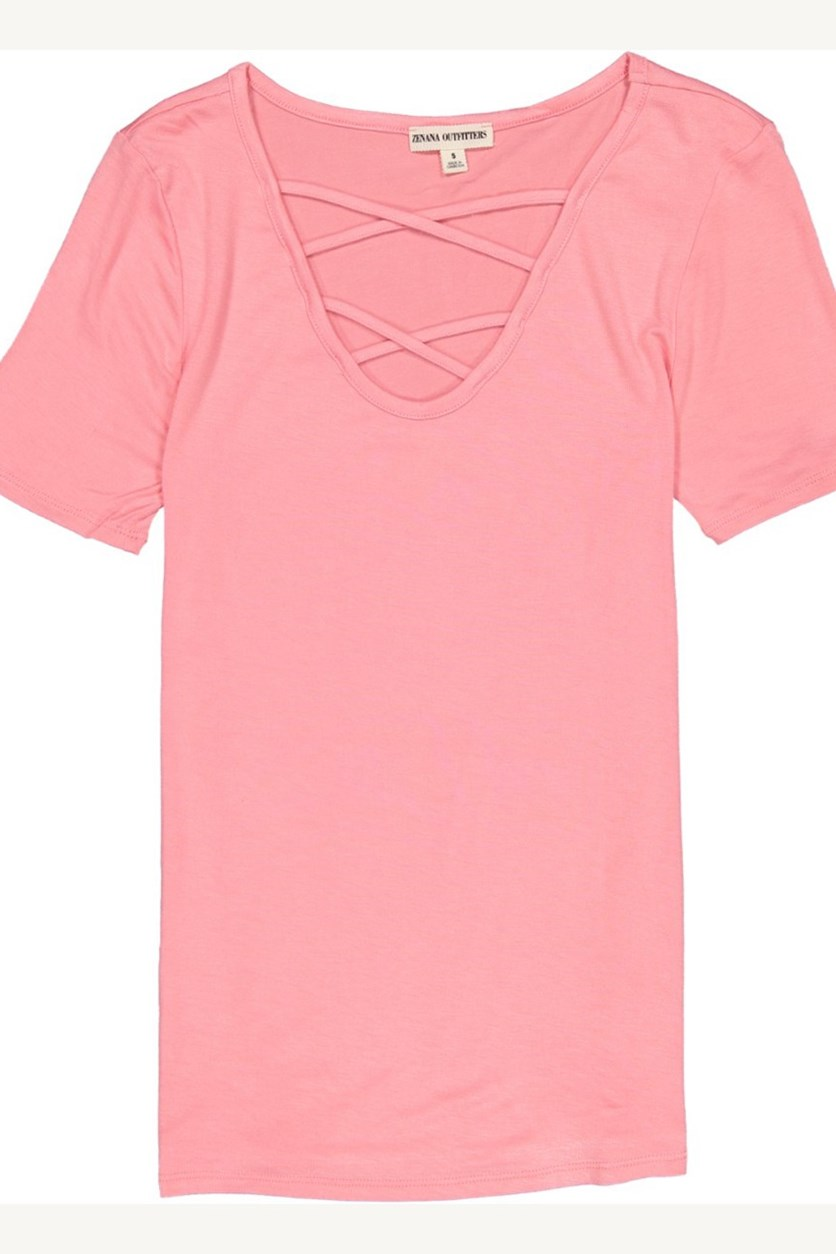 Latice Front Top, Rosepink
