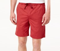 Weatherproof Vintage Mens Cotton Volley Shorts, Burgundy