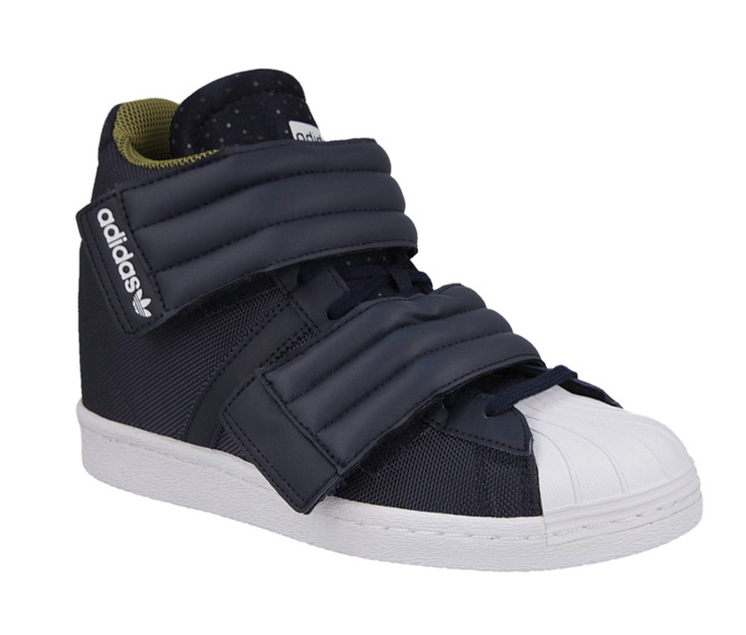 Shop Adidas Adidas Womens Superstar Up 2 strap Shoes, Ink