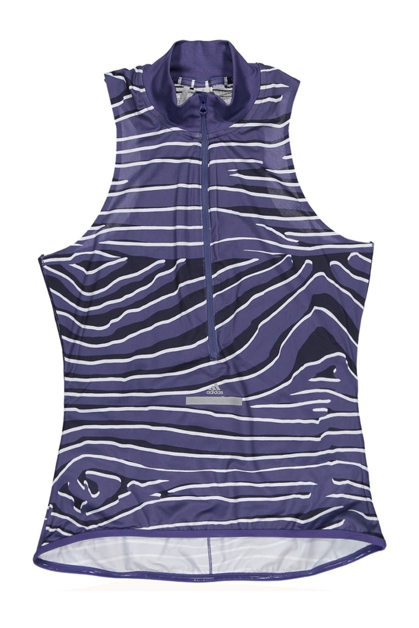 by Stella McCartney Cycling Adizero Tank Top, Plum/Nobink/White