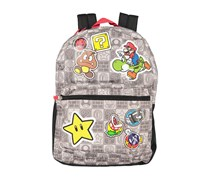 Super Mario Bros. Backpack, Grey