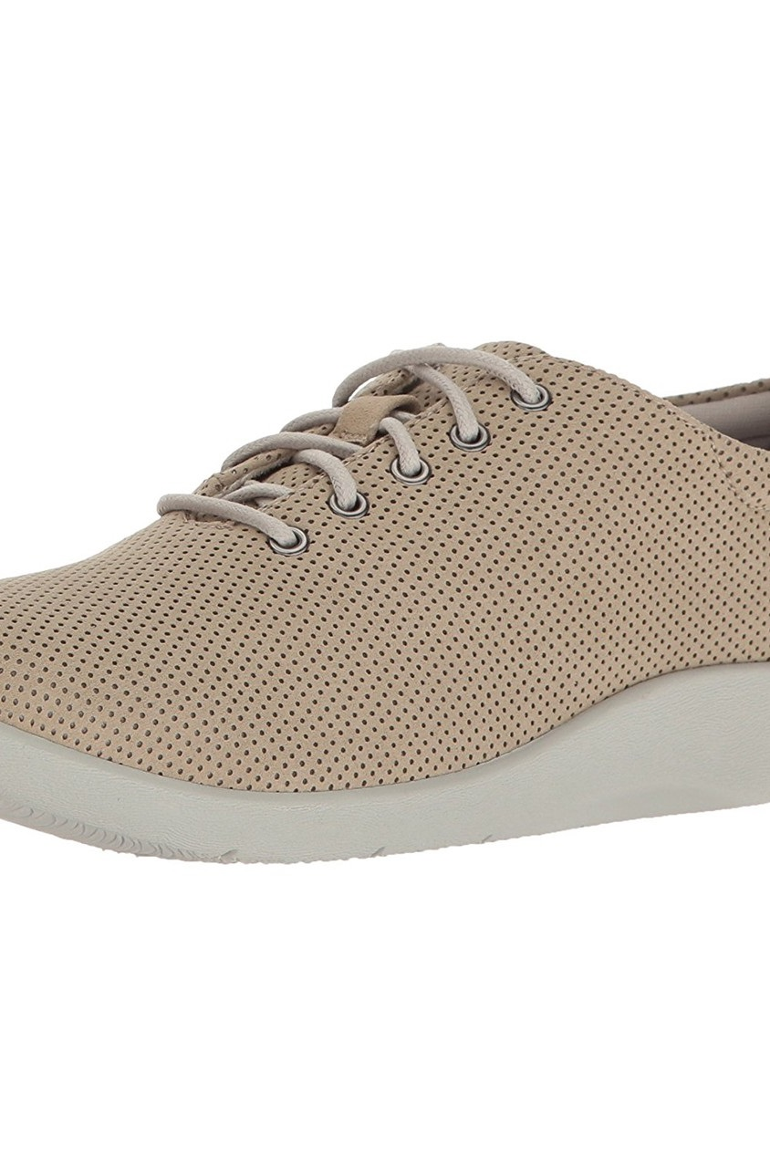 f8f91a2bb60d4 Shop Clarks Clarks Cloud Steppers Sillian Tino Sneakers, Sand ...