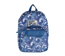 Skechers Detachable Lunch Bag Circuit Break Backpack, Blue White
