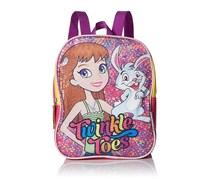 Skechers KidsTwinkle Toes Character Sequins Backpack Accessory, Pink/Purple