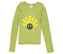 So Nikki Girl's Pullover Top, Lime Green