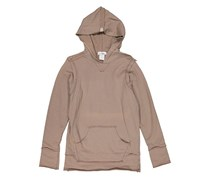 So Nikki Girl's Pullover Hooded Sweater, Brown