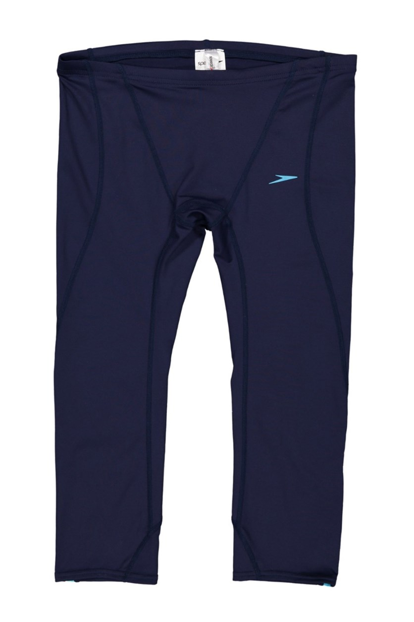 Men's Three Quarter UV Pants, Navy Blue