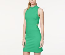 In Awe of You Cutout Ponte-Knit Dress, Spearmint