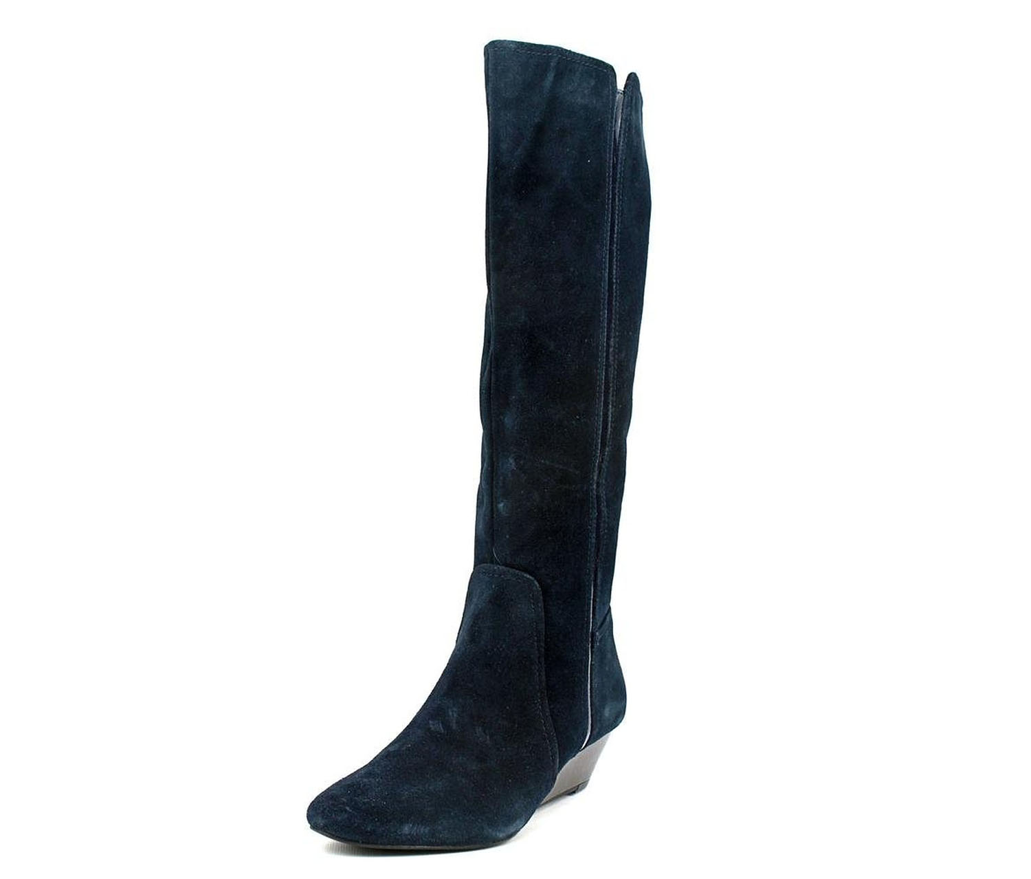 s swaye suede fashion knee high boots navy brands