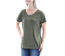Sanctuary Harper Distressed T-Shirt, Fatigue