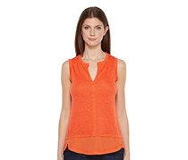 City Contrast Top, Tigerlily
