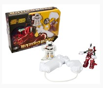 Tomy Battroborg Remote Controlled RC Battling Robots,Red