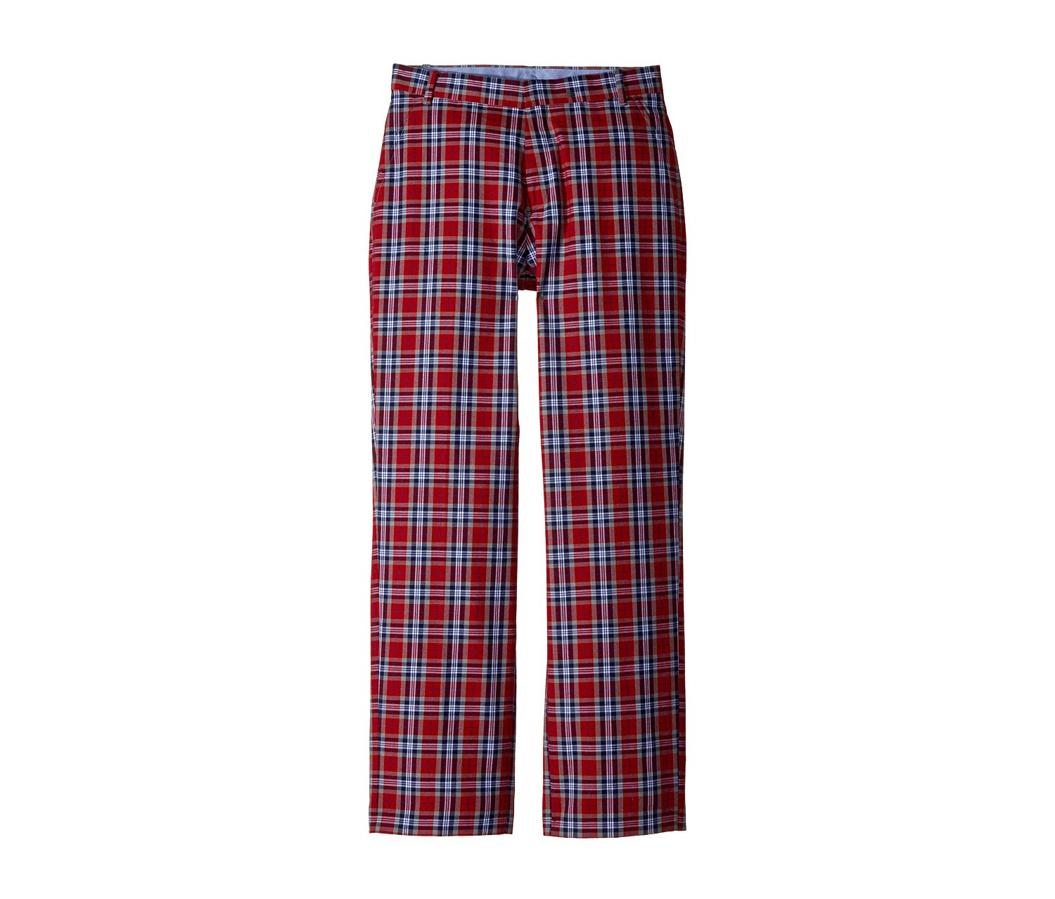 Tommy Hilfiger Fancy Tartan Pants, Red/Navy