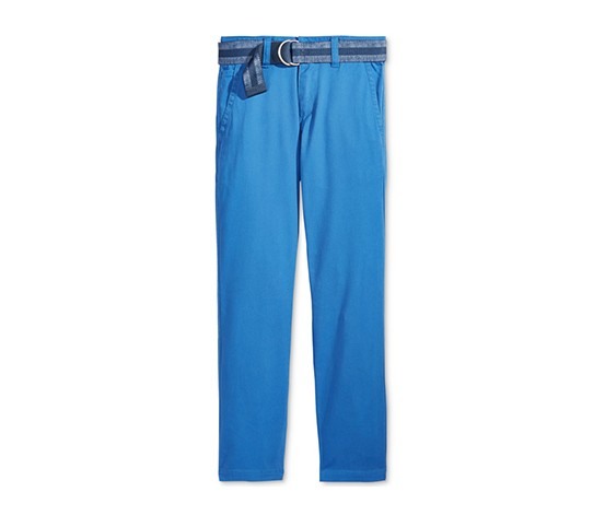 Tommy Hilfiger Dagger Twill Pants Big Boys, Bikini Blue