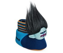 Trolls by Dream Works Boy's Branch Slippers, Blue