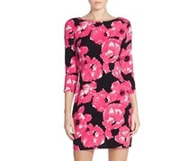 Trina Turk Tina Poppy Field Dress, Pink/Black