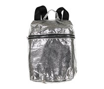 In Awe of You by Awesomeness TV High-Shine Backpack, Silver