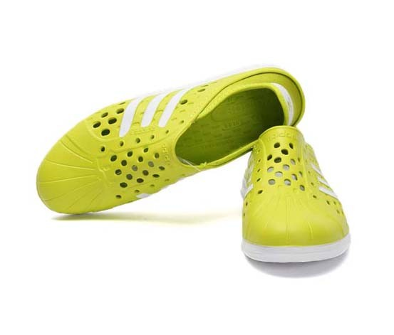 Shop Adidas Neo Label Court Adapt Flats, Green for Clothing