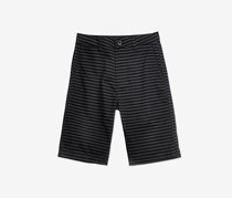 Univibe Big Boys Butler Chino Cotton Shorts, Black