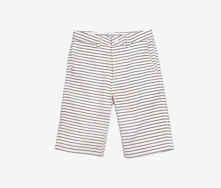 Kids Boys Butler Chino Cotton Shorts, White