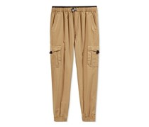 Univibe Boys Climb Jogger Pants, Dark Gold