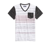 Univibe Contrast Pocket T-Shirt, Carbon/White