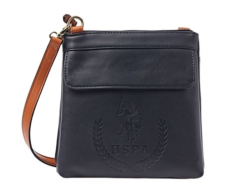 Shop U.S. Polo Assn. U.S. Polo Assn. Billy Crossbody Bags, Midnight ... f732fccf36