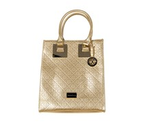 Christian Lacroix Womens Scarlet Tote, Gold