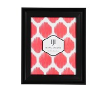 Isaac Jacobs Faux Wood Frame, Black