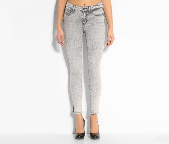 1981 Ankle Starry  Pant, Grey Denim
