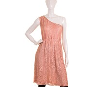 Guess Women's Safa Lace Dress, Peach