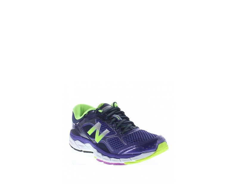 Women's Running Shoes, Purple/Neon Green