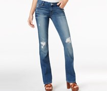 Ripped Mini Bootcut Gateview Jeans, Destory Wash