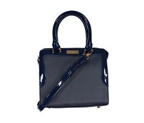 Bebe Samantha Speedy Satchel, Navy