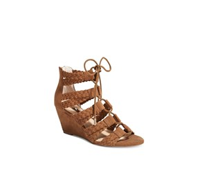 Women's Witley Lace-Up Wedge Sandals, Walnut