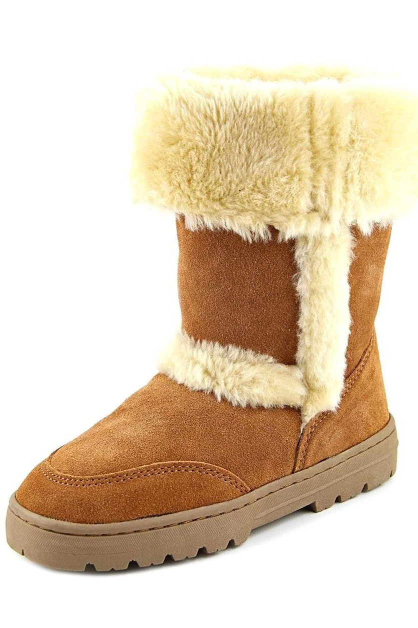 . Womens Witty Cold Weather Boots, Chestnut