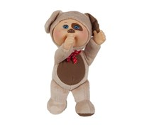 Cabbage Patch Kids Parker Puppy Cutie Baby Doll, Brown