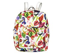 Christian Lacroix Liliane Backpack, Tropical Light White