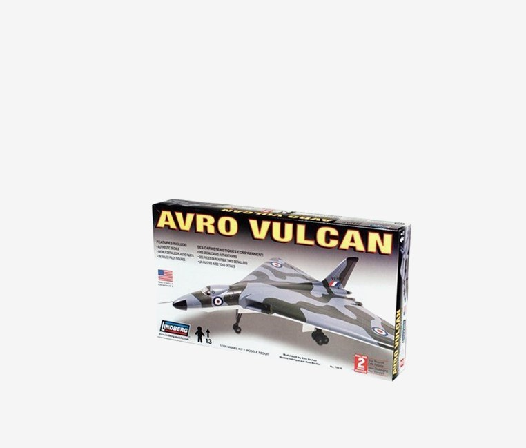 h Avro Vulcan Bomber Model Kit, Camo