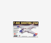 Lindberg F-80 C Shooting Star Model Kit, Grey
