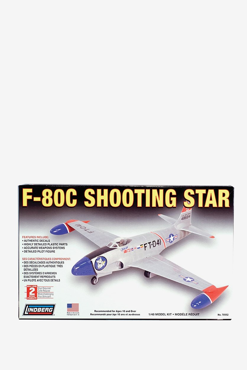 F-80 C Shooting Star Model Kit, Grey
