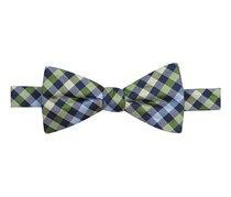 Countess Mara Multi-Gingham Pre-Tied Bow Tie, Green