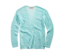 Pink Republic Open-Front Cardigan, Poolside Mint