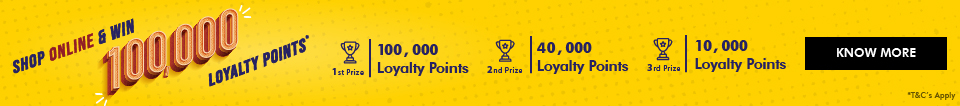 WIN 100,000 Loyalty Points