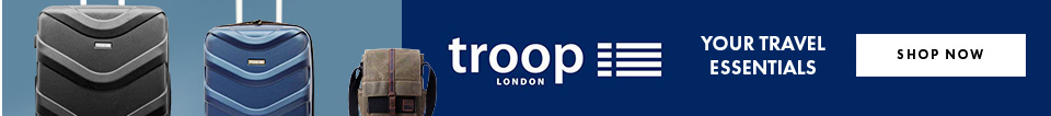 Troop London Travel Bags