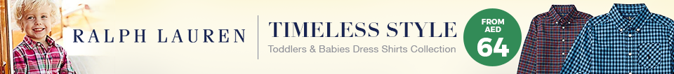 Ralph Lauren Toddlers Dress Shirts
