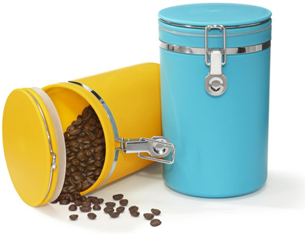 Coffee-tin
